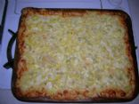 White Cheese Pizza With Artichoke Hearts