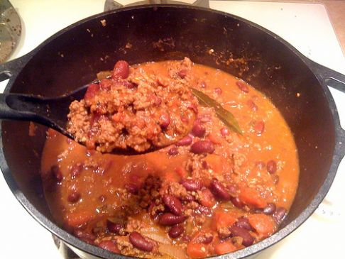 Lean Ground Beef Chili