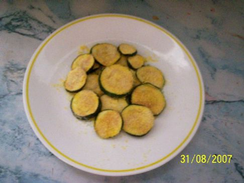 Fake Fried Zucchini (single serving)