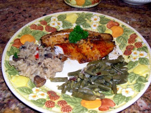 Brown in Butter Tilapia