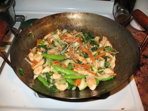Stir Fry Chicken & Veggies
