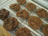 Double Chocolate Raisin Cookies