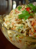My Coleslaw with Marie's Dressing and Fresh Express