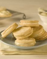 Creamy Lemon Filled Cookies