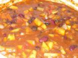 Pumpkin, Bean and Veggie Chili
