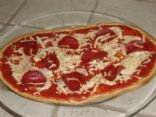 Pepperoni Pizza with Flatout