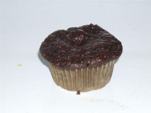 Fat Free Moist Chocolate Muffins