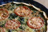 Easy Spinach Feta Quiche