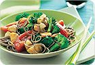 Chicken Stir-Fry With Broccoli and Tomatoes
