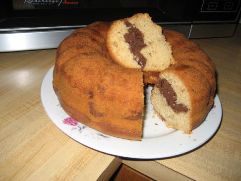 Nici's Lowfat  Vanilla Chocolate Swirl  Cake(4)