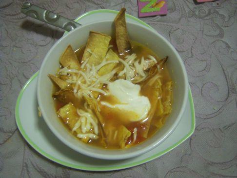 chicken enchilata soup