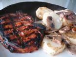 Cajun Grilled Pork Chops