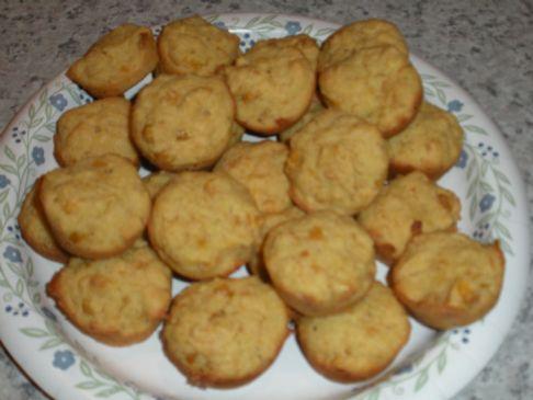 Mini Corn Bread Muffins