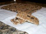 Granola Bars (Raw and Gluten Free)