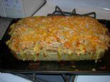 Cheesy Chicken & Rice Casserole