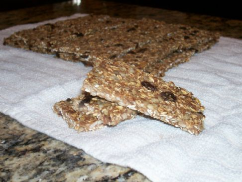 Granola Bars (Raw and Gluten Free)