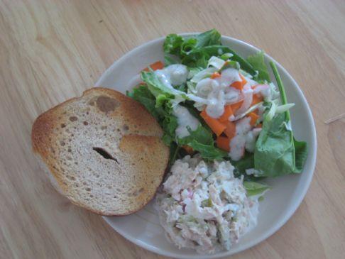 No Celery Tuna Salad