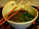 Steak and Greens Ramen