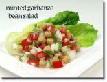 Minted Garbanzo Bean Salad