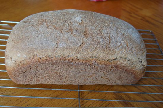 Barley wheat bread