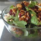 candid walnut gorgonzola salad