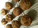 Banana Oat Almond Muffin
