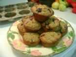 Blueberry Bran Muffins