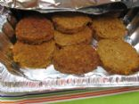 Oatmeal Hamburger Patties
