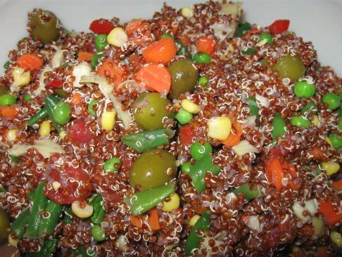 quinoa salad-easy