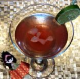 Exotic Blackberry Lime Gingerini (Mocktail)