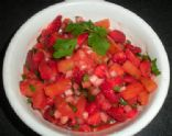 Strawberry-Grilled Pineapple Salsa
