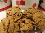 Healthier Gluten Free Chocolate Chip Pumpkin Cookies