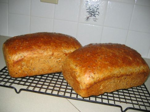 Cracked wheat Sourdough Bread