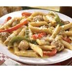 Penne with Sausage and Peppers!