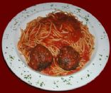 Michael's complete Pasta with Meatballs
