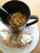 Slowcooker Cabbage soup