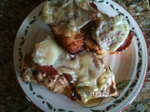 Swiss Traeger Low Carb Chicken