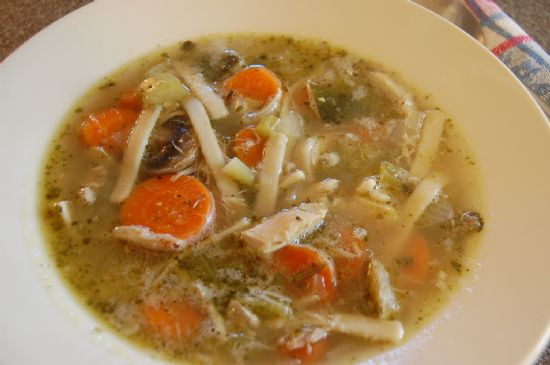 Chicken Vegetable Noodle Soup-low sodium