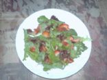Strawberry/Spring Mix Salad