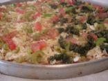 Meatless Wholegrain Pizza