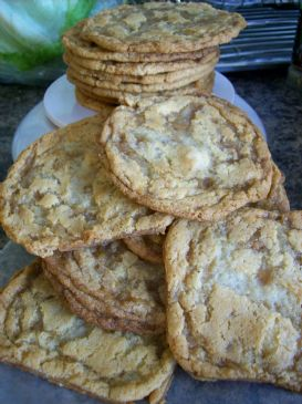 Toffee Apple Cookies