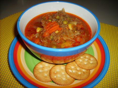 Janet's Garden Venison Soup
