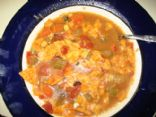 Easy Cheesey Tortilla Soup