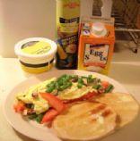 Breakfast Veggie Omelette