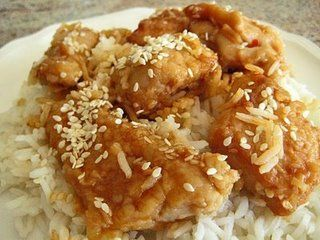 Honeyed Sesame Chicken
