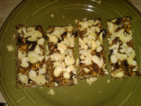 All Natural Fruit and Nut Granola Bars