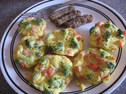 Mini Veggie & Egg Frittatas