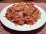 Spaghetti Squash Fra Diavlo