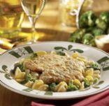 Lemon Chicken Scallopini Pasta con Broccoli (mock Olive Garden)