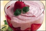 Strawberry Lemon Mousse